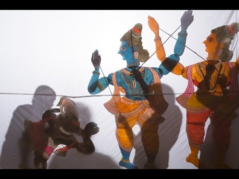 Puppet animation Bommalattam India