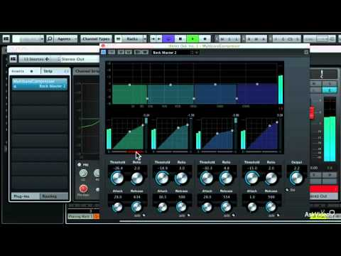 Cubase 7 102: SongwritersMusicians Toolbox – 44. Adding Mastering Plug-ins