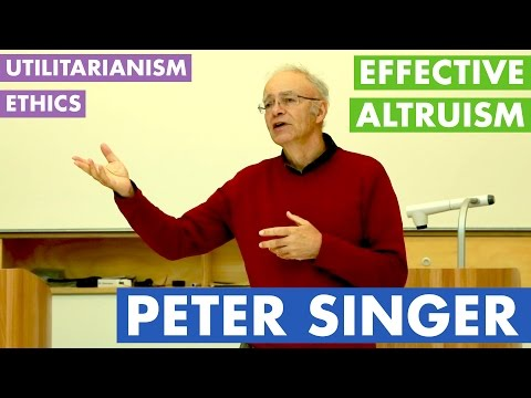 analysis of applied ethics by peter singer and his views on human ethics