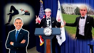 I SLEPT IN THE WHITE HOUSE OVERNIGHT... OMGGG SUBSCRIBE ▻ http://bit.ly/SUB2JAKEPAUL  ☆ PREVIOUS VLOG ...