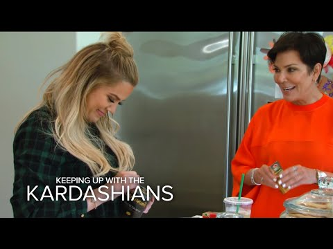 KUWTK | Khloé Shows Kris Jenner How to Use a Condom | E!