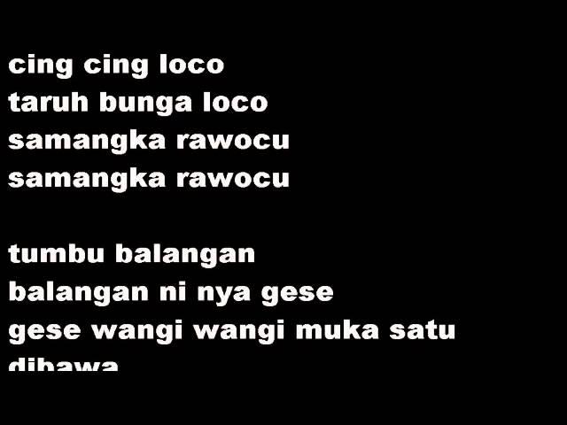 Paku Seng Lirik Music | AliMusicSite.com