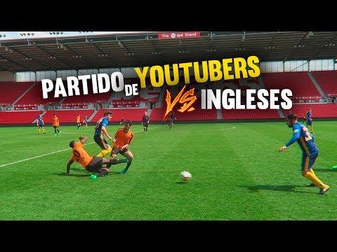 ESPAÑA VS INGLATERRA ¡¿HUMILLACIÓN?! Partido Fútbol Youtubers