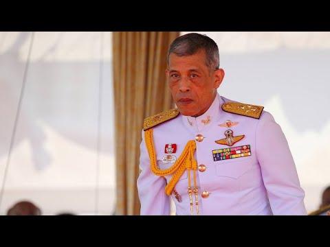 Thailand: Nachfolge - Zeremonielle Vorbereitungen für d ...
