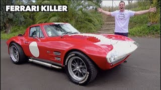 This OLD Corvette DESTROYS Supercars!!! by Vehicle Virgins