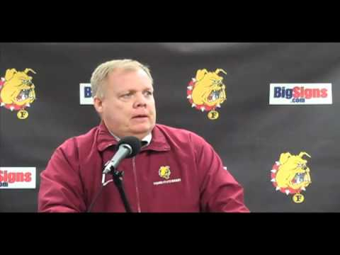Hockey Head Coach Daniels Post Game 12-10-10