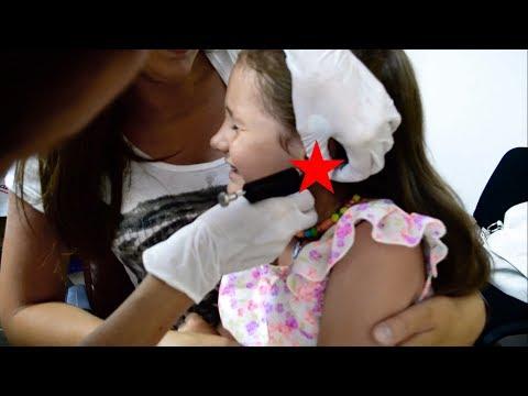 Пробивання вушок, наші перші сережки, як проколоти вуха дитині | Прокалывание ушек