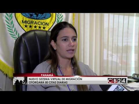 Servicio Nacional de Migración de Panamá anuncia nuevo sistema virtual de citas para extranjeros