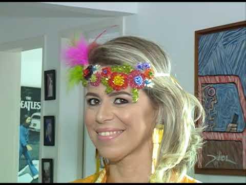 [JORNAL DA TRIBUNA] Carnaval: tendências para os arranjos de cabeça