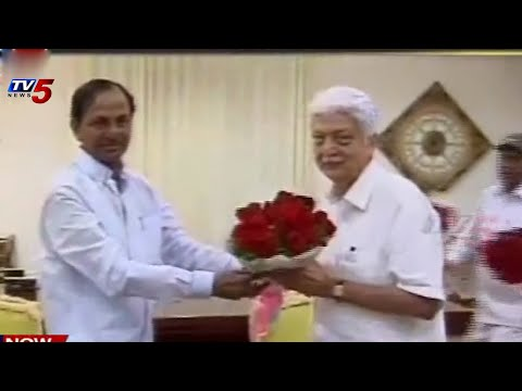 KCR meets Wipro Chairman Azim Premji : TV5 News