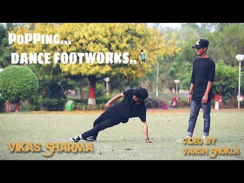 POPPING DANCE 2018  | BOOGALO DANCE  FOOTWORK
