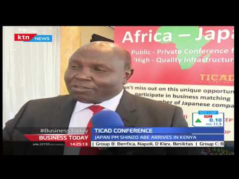 Business Today 26th August 2016 - TICAD Conference - What Kenyans aim to achieve