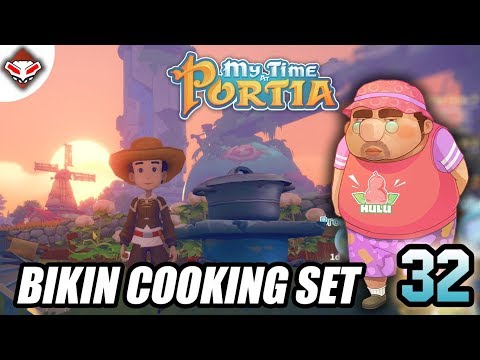 Bikin Cooking Set | My Time At Portia Indonesia #32