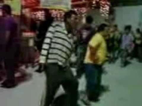 beudos dançando na feira da lua em wenceslau braz