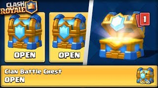 """Video OPENING DOUBLE """"10 OUT OF 10"""" CLAN BATTLE CHEST!! Clash Royale EPIC 2V2 BATTLES AND CHEST OPENING! MP3, 3GP, MP4, WEBM, AVI, FLV Mei 2017"""
