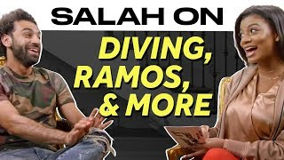Liverpool's Mo Salah Opens Up About Diving, the Ramos Incident, World Cup Tears and More