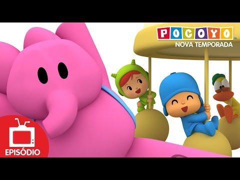 Pocoyo português Brasil - Pocoyo -  Pequeno parque de diversões  (S04E17) NOVOS EPISÓDIOS