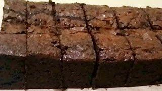 Resep Brownies Panggang Original Crust diluar Legit dan nyoklat didalam (tanpa mixer)