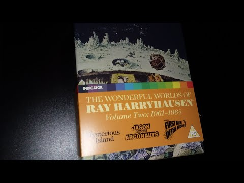 """Unboxing"" The Wonderful Worlds of Ray Harryhausen vol. 2 box set"