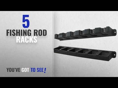 Top 10 Fishing Rod Racks [2018]: Berkley Vertical Rod Rack, Black