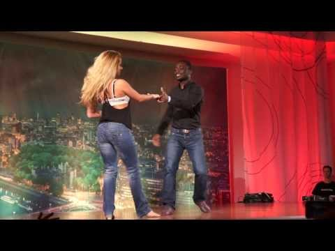 Ekow & Sarve - West Coast Swing Performance At The London Zoukfest 2014 [hd]