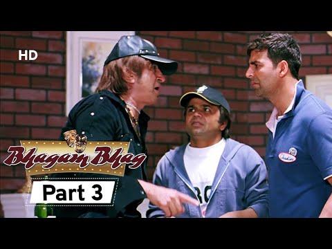 Bhagam Bhag 2006 (HD) - Part 3 - Superhit Comedy Movie - Akshay Kumar -  Paresh Rawal - Rajpal Yadav
