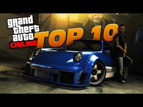 GTA 5 Top 10 COMET RETRO CAR BUILDS! (RWB Porsche) (видео)