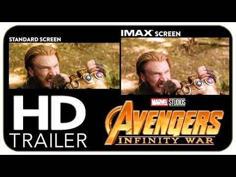 AVENGERS: INFINITY WAR IMAX vs. Standard Trailer (2018) Marvel Superhero Movie HD