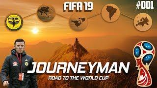 Fifa 19 Journeyman Career Mode - Wellington Phoenix - EP 1 - LETS GET STARTED!