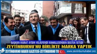 Başkan Murat Aydın Veliefendi Mahalle Sakinlerinden Destek İstedi 2