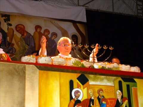 Chegada da Cruz na Diocese de São João da Boa Vista