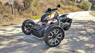 8. 2019 Can-Am Ryker walkaround, startup, and revs!