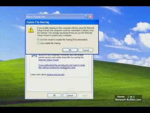 S5.3- Sharing Files and Printers in Windows XP and Vista