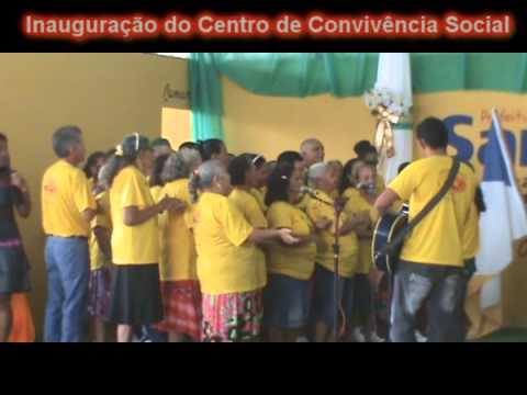 Coral dos Idosos Cantando no Centro de Convivência Social em Santa Terezinha do Tocantins.wmv