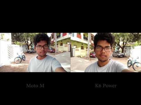 Moto M vs Lenovo K6 Power Camera Review