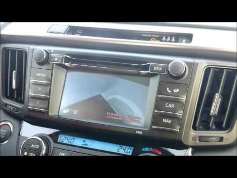 Toyota RAV4 камера кругового обзора