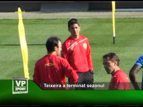 Teixeira a terminat sezonul