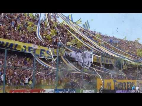 Video - Salida Gigante Rosario Central vs N.O.Boys 20-10-13 HD (Canallamania.com) - Los Guerreros - Rosario Central - Argentina