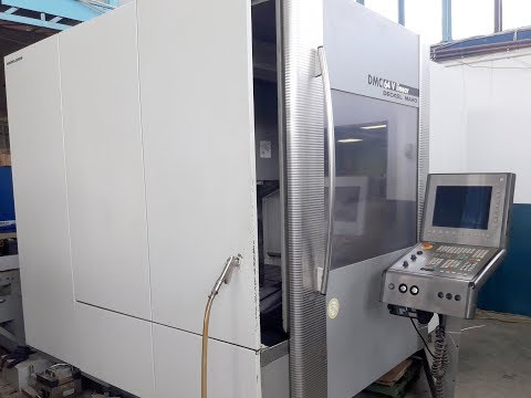 CNC Vertical Machining Center DECKEL MAHO DMC 64 V LINEAR 2002