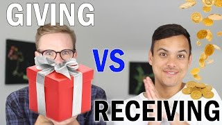 Is Giving Better Than Receiving?