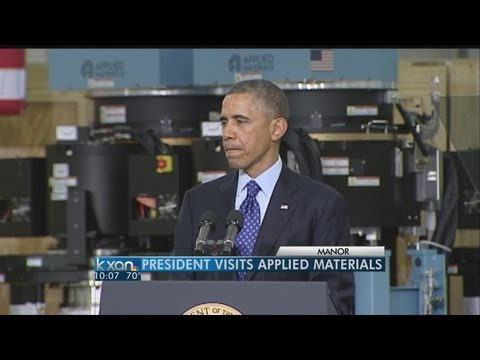 kxan - The President made several stops in and around Austin on Thursday.