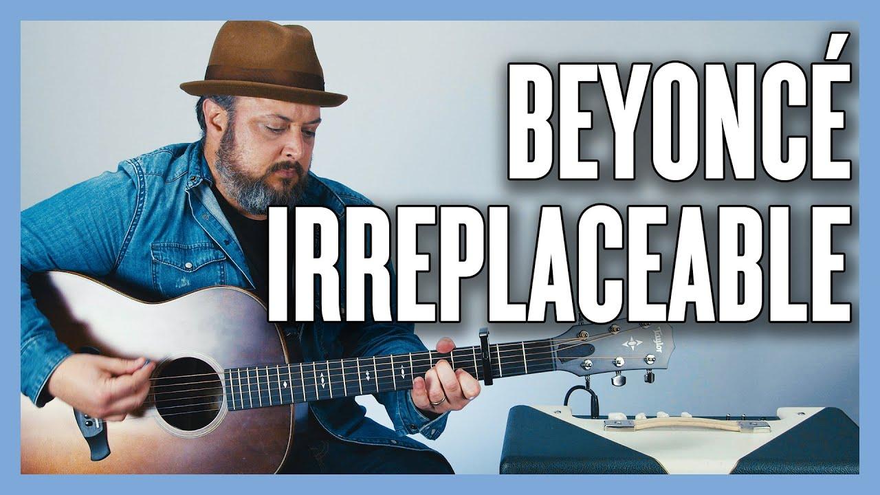 Beyoncé Irreplaceable Guitar Lesson + Tutorial
