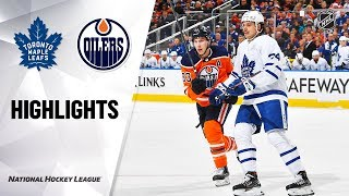 NHL Highlights | Maple Leafs @ Oilers 12/14/19 by NHL