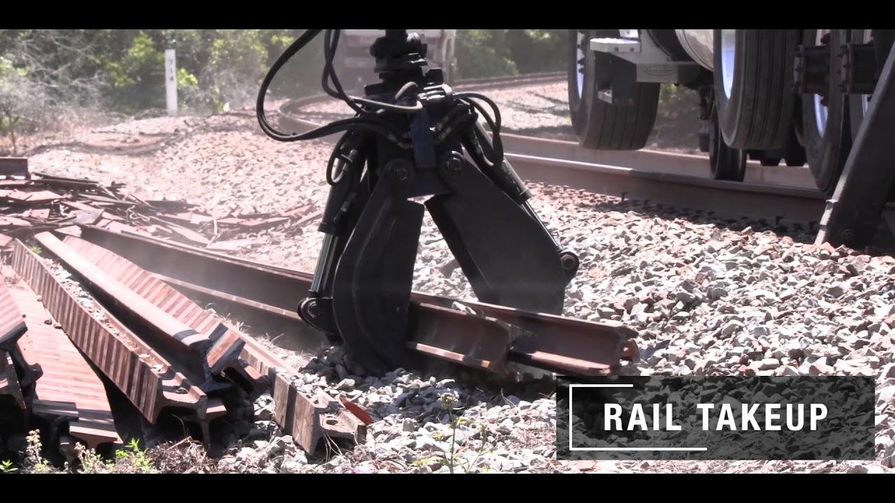Rail Takeup - Relay Rail