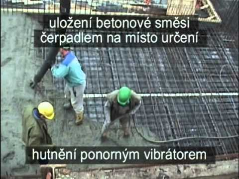 Betonáž čerpadlem (4)