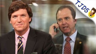 Tucker Carlson SHREDS Adam Schiff On Russian Election Hack
