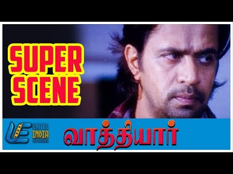 Video Vathiyar - Super Scene 12 | Arjun | Mallika Kapoor | Prakash Raj | Vadivelu download in MP3, 3GP, MP4, WEBM, AVI, FLV January 2017