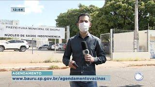 Bauru vacina moradores com 37 anos contra Covid-19