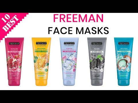 10 Best Freeman Masks 2020   Best Freeman Peel Off Mask   Best Freeman Sheet Mask