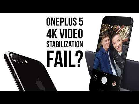 4K video is not properly stabilized and turns out terrible